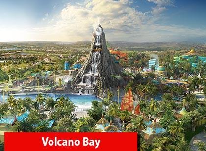 UNIVERSAL - 03 Park Explorer Ticket com Volcano Bay